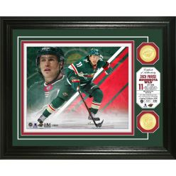 Zach Parise Bronze Coin Photo Mint