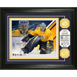 Pekka Rinne Bronze Coin Photo Mint