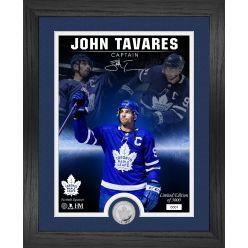 John Tavares The Captain Signature Series Silver Coin Photo Mint