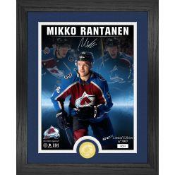 Mikko Rantanen Signature Series Bronze Coin Photo Mint