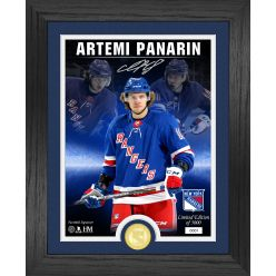 Artemi Panarin Signature Series Bronze Coin Photo Mint