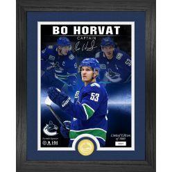 Bo Horvat The Captain Signature Series Bronze Coin Photo Mint