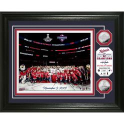 """Washington Nationals - Capitals """"District of Champions"""" Silver Coin Photo Mint"""