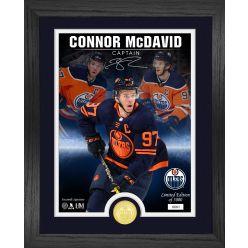Connor McDavid The Captain Signature Series Bronze Coin Photo Mint