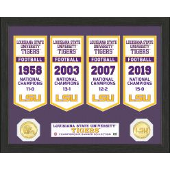 Louisiana State University Bronze Coin Banner