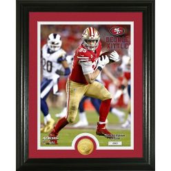 George Kittle Bronze Coin Photo Mint