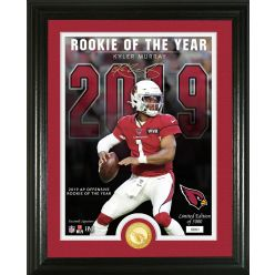 Kyler Murray 2019 Offensive Rookie of the Year Bronze Coin Photo Mint