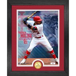 Yadier Molina  St. Louis Cardinals Bronze Coin Photo Mint