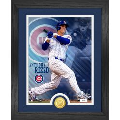 Anthony Rizzo Chicago Cubs Bronze Coin Photo Mint