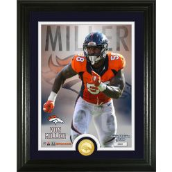 Von Miller Single Bronze Coin Photo Mint