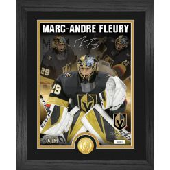 Marc-Andre Fleury Signature Series Bronze Coin Photo Mint