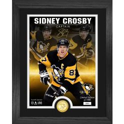 Sidney Crosby Signature Series Bronze Coin Photo Mint