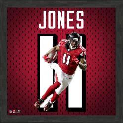 Julio Jones Jersey Number Frame