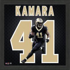 Alvin Kamara Jersey Number Frame