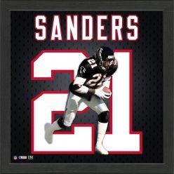 Deion Sanders Falcons Jersey Number Frame