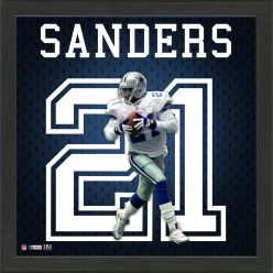 Deion Sanders Cowboys Jersey Number Frame