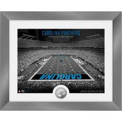 Carolina Panthers Art Deco Stadium Silver Coin Photo Mint