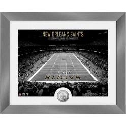 New Orleans Saints Art Deco Stadium Silver Coin Photo Mint