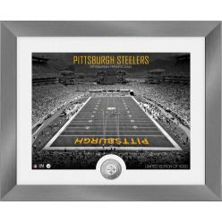 Pittsburgh Steelers Art Deco Stadium Silver Coin Photo Mint