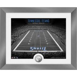 Tennessee Titans Art Deco Stadium Silver Coin Photo Mint