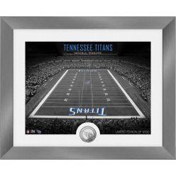 Tennessee Titans Art Deco Stadium Silver Coin Photo Mint