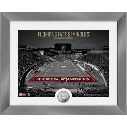 Florida State Seminoles Art Deco Stadium Silver Coin Photo Mint