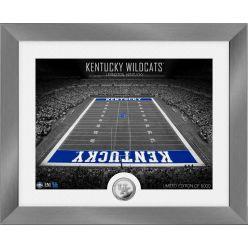 Kentucky Wildcats Art Deco Stadium Silver Coin Photo Mint