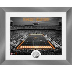 Tennessee Volunteers Art Deco Stadium Silver Coin Photo Mint