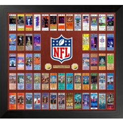 NFL Super Bowl 55 Ticket Collection Photo Mint