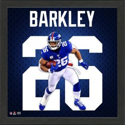Saquon Barkley Jersey Number Frame
