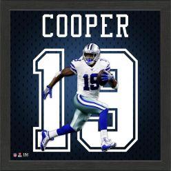 Amari Cooper Jersey Number Frame