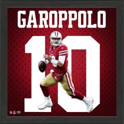 Jimmy Garoppolo Jersey Number Frame