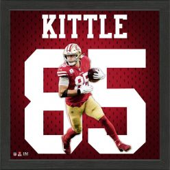 George Kittle Jersey Number Frame