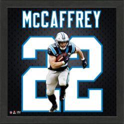 Christian McCaffrey Jersey Number Frame