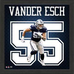 Leighton Vander Esch Jersey Number Frame