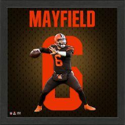 Baker Mayfield Jersey Number Frame