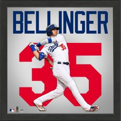 Cody Bellinger Impact Jersey Framed Photo