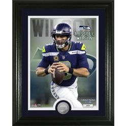Russel Wilson Silver Coin Photo Mint
