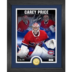 Carey Price Signature Series Bronze Coin Photo Mint