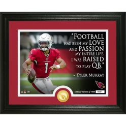Kyler Murray Quote Bronze Coin Photo Mint
