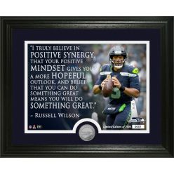 Russell Wilson Quote Minted Coin Photo Mint