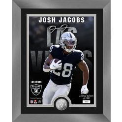 Josh Jacobs Signature Series Silver Coin Photo Mint