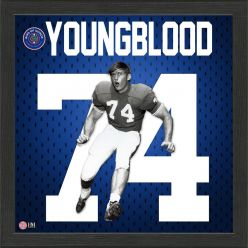 Jack Youngblood Ring of Honor Jersey Framed Photo