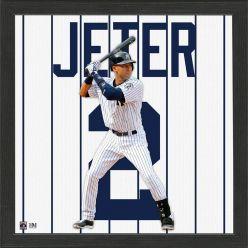 Derek Jeter Impact Jersey Framed Photo