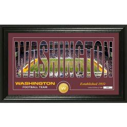 "Washington Football Team ""Silhouette"" Panoramic Bronze Coin Photo Mint"