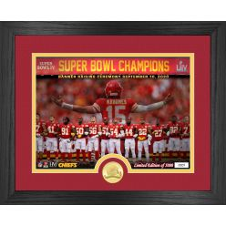 "Kansas City Chiefs Super Bowl 54 Champions ""Banner Raising"" Bronze Coin Photo Mint"