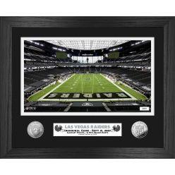 Las Vegas Raiders Inaugural Home Game Silver Coin Photo Mint