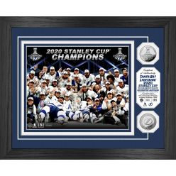 Tampa Bay Lightning 2020 Stanley Cup Final Champions Celebration Silver Coin Photo Mint