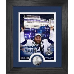 Victor Hedman Stanley Cup Trophy Select Series Silver Coin Photo Mint