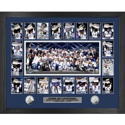 Tampa Bay Lightning 2020 Stanley Cup Champions Memorable Moment Silver coin Photo Mint